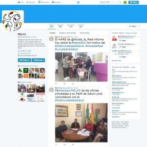 Puedes seguir la actividad del #DíamundialdelaSalud en @AndaluciaRELAS