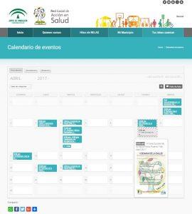 En la web www.redlocalsalud.es puedes acceder a todos los eventos RELAS