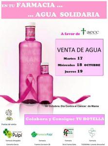 Botellas cáncer de mama
